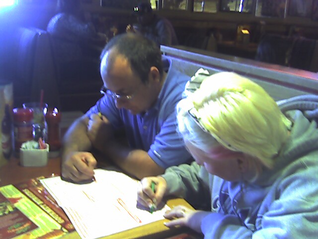 Butch and Nerissa Coloring